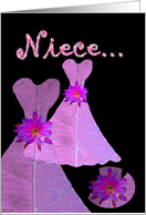 NIECE - Be My Junior Bridesmaid card
