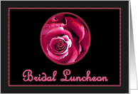 Bridal Luncheon Invitation card