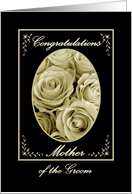 Mother of the Groom - Wedding Congratulations card