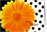 Sister-Will you be my Bridesmaid? card