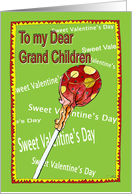 Valentine - grand children card