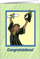 Graduation - female card