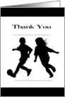 Thank You - Soccer Coach (sports) card