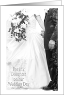 Daughter on Wedding (from Father) card