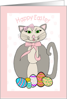 Easter - Miss Cuddles card