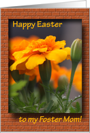 Happy Easter - foster Mom card