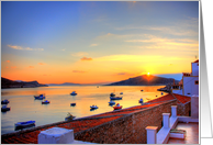 Halki Sunrise card