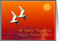 Happy 48th Anniversary, Journey Together card