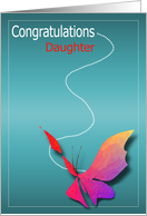 Congratulations Daughter card