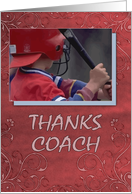 Thanks Coach card