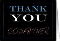 Godfather, Thank You card
