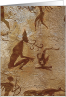 Cave Painting card