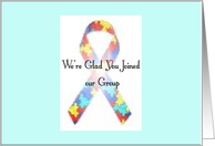 Autism Support Group card