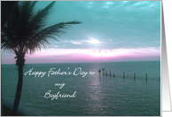 Happy Father's Day Boyfriend card