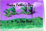 Father's Day Palms- Step Dad card