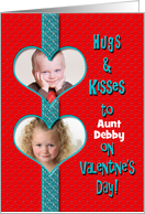 Valentine's Day - Photo Insert (Children) Personalize card