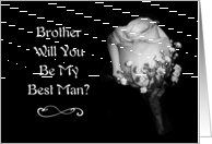 Will You Be My Best Man Brother? card