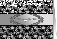 Renewing Our Vows - Formal Invitation card