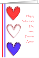 Airman's Valentine card