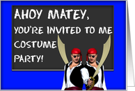 You're invited to me Costume Party! card