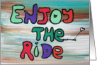 EnJOY the Ride card