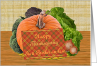 Thanksgiving Wishes to Sister & Brother-in-Law card