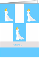 will you ... in blue card