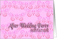after wedding invitation card
