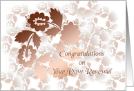 shadow vow renewal congratulations card
