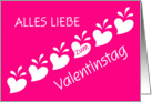 german valentine's hearts card