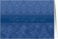 be my father in law, blue lace card