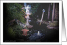 Garden Series ~ Tranquil (white boarder) card