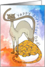Yappy Birthday Dad! From the cats card