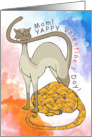 Yappy Valentine's Day Mom! From the cats card