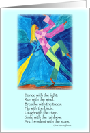 We are the Music We are the Dance- Dance with the Light card