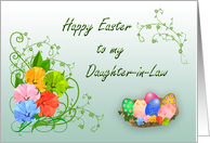 Happy Easter Daughter-in-law card