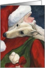 Charlotte Christmas Greyhound card