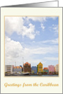 Greetings from the Caribbean, Curacao photography card