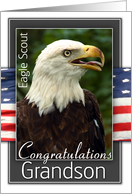 Eagle Scout Congratulations-Grandson card