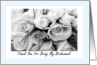 Thank You Cousin Bridesmaid card