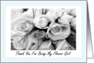 Thank You Flower Girl Niece card