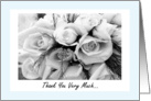 Thank You To Our Florist card