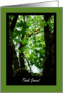 Happy Earth Day - Think Green! card