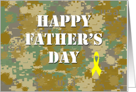 Happy Father's Day - Camouflage card