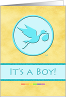 Gay Parents: It's A Boy card