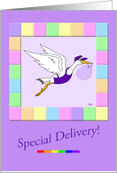 Gay Parents: Special Delivery card