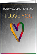 I Love You Card For Huband card