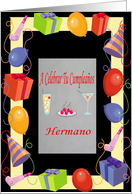 birthday hermano (spanish) card