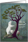 We've Moved Somewhere Warmer - Polar Bear Cubs In Tropical Environment card