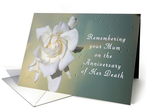Death Anniversary For Mum Card 1311240